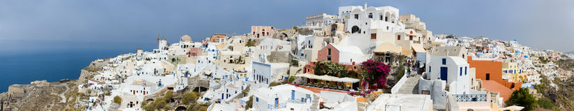 Oia Village Stock Images