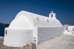 Oia Village Church Stock Images