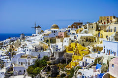 Oia Village Stock Photography