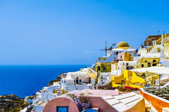Oia Village Royalty Free Stock Photos
