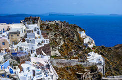 Oia Village Stock Image