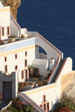 Oia village hotel, Santorini Royalty Free Stock Photo