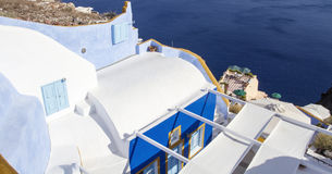 Oia village on the island of Santorini Stock Photography