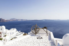 Oia village on the island of Santorini Royalty Free Stock Image