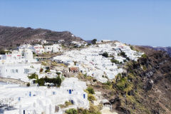 Oia village on the island of Santorini Stock Image