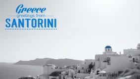 Oia village on the island of Santorini Stock Photos