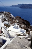Oia village landscape Royalty Free Stock Photos