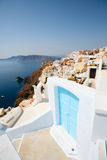 Oia village Santorini Stock Photos