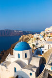 Oia village, Santorini Stock Images