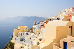 Oia village in Santorini Greece Royalty Free Stock Photography