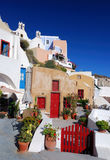 Oia village, Santorini, Greece Royalty Free Stock Photography