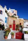 Oia village, Santorini, Greece Royalty Free Stock Photography