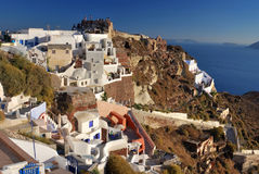 Oia village, Santorini, Greece Royalty Free Stock Images