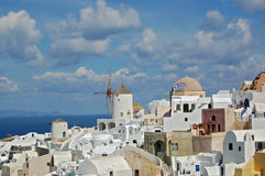 Oia Village, Santorini, Greece Royalty Free Stock Image