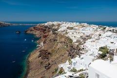 Oia village, Santorini, Greece Royalty Free Stock Photo