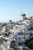 Oia Village, Santorini Island Royalty Free Stock Photos