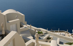 Oia village at Santorini island Royalty Free Stock Image