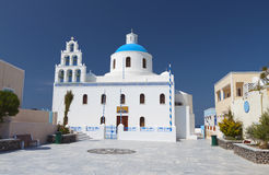Oia village at Santorini island Royalty Free Stock Photo