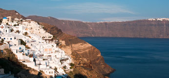 Oia village, Santorini island Royalty Free Stock Image