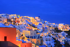Oia village on Santorini island Royalty Free Stock Photo