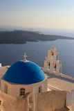 Oia village in Santorini island Royalty Free Stock Image