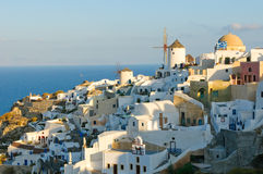 Oia village at Santorini island, Greece Stock Image