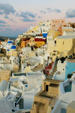 Oia village at Santorini island, Greece. Famous Oia village at Santorini island, Greece Royalty Free Stock Images