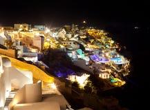 Oia village in Santorini island - Greece Royalty Free Stock Photo