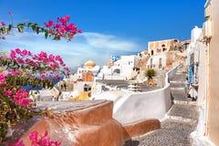 Oia village, Santorini island, Greece Royalty Free Stock Photography