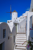 Oia village on Santorini island in Greece Royalty Free Stock Image