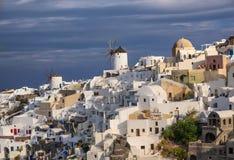 Oia village on Santorini island, Greece Royalty Free Stock Photography