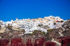 Oia village, Santorini Stock Photography