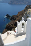 Oia village, Santorini Royalty Free Stock Images