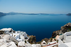 Oia village Stock Photo