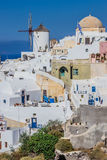 Oia village view, Santorini island, Greece Royalty Free Stock Photography
