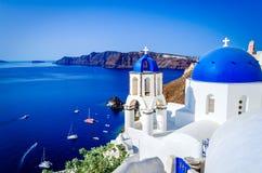 Santorini, Oia, Greek Islands of Greece stock photography
