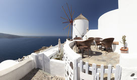 Oia Windmill Royalty Free Stock Images