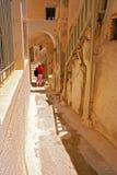 Oia wioska tradycyjna architektura Zdjęcie Royalty Free