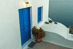 OIA, wyspa SANTORINI, GREECE-SEPTEMBER, 03,2014 Zdjęcie Royalty Free