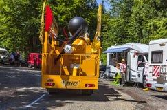 OIC-Vrachtwagen Stock Afbeeldingen