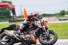 Oidentifierad hertig 200 för racerbilar KTM Arkivbild