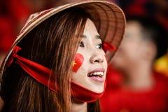 Oidentifierad kvinna av Vietnam arkivbilder