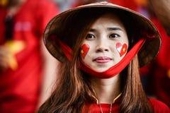Oidentifierad kvinna av Vietnam arkivbild