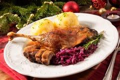 Oie de Noël Image libre de droits