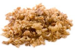 Oignon frit Image stock