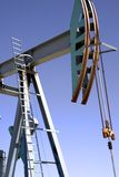 Oil 1. An oil pump jack Royalty Free Stock Images