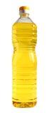 Oil. Bottle of vegetable oil on a white background Stock Photo