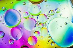 Oil Abstract Royalty Free Stock Images