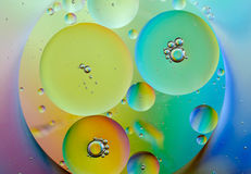 Oil Abstract Royalty Free Stock Photo