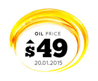 Oil Background Royalty Free Stock Photos